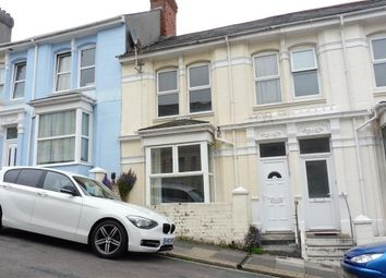 Thumbnail 3 bed property to rent in Rosebery Avenue, Plymouth