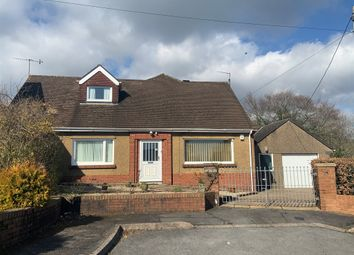 Thumbnail 3 bed detached bungalow for sale in Sunlea Crescent, Pontypool