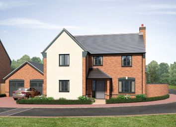 Thumbnail 4 bed detached house for sale in Sparrowhawk Way, Telford
