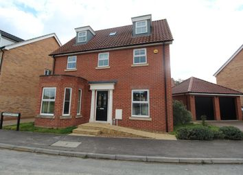 Thumbnail 6 bed detached house to rent in Barleycorn Way, Beck Row, Bury St. Edmunds