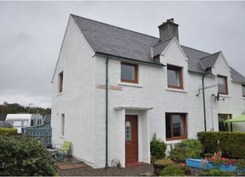 Thumbnail 3 bed semi-detached house for sale in Camore Crescent, Dornoch
