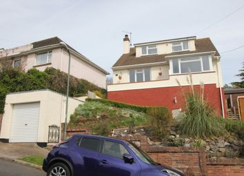 Thumbnail 4 bed detached house for sale in Highfield Crescent, Paignton