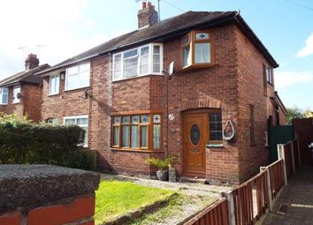 Thumbnail 3 bed semi-detached house for sale in Newfield Drive, Crewe, Cheshire