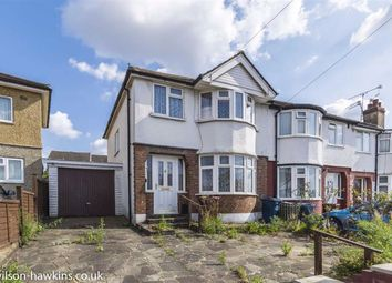 Thumbnail 3 bed semi-detached house for sale in Raglan Terrace, Stroud Gate, Harrow