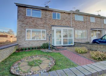 Thumbnail 3 bed terraced house for sale in Oakes Road, Bury St. Edmunds