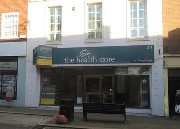 Thumbnail Commercial property to let in 22 Silver Street, Wellingborough, Northamptonshire