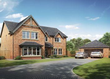 Thumbnail 5 bedroom detached house for sale in Medburn Park, Medburn Village, Newcastle Upon Tyne