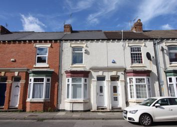 Thumbnail 3 bed terraced house for sale in Clarendon Road, Middlesbrough