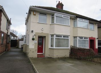Thumbnail 3 bed semi-detached house for sale in Mansfield Road, Whitby, Ellesmere Port