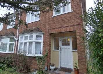 Thumbnail 3 bed semi-detached house to rent in Lavenham Road, Ipswich