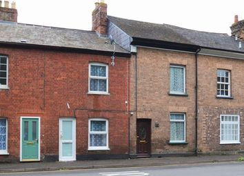 Thumbnail 2 bedroom terraced house for sale in Leat Street, Tiverton