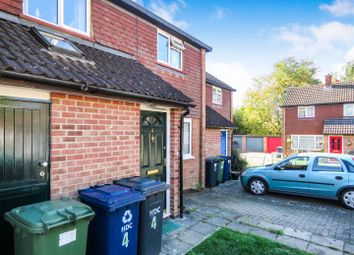 Thumbnail 2 bed terraced house for sale in Dorset Close, Wyton, Huntingdon