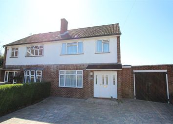 Thumbnail 3 bed semi-detached house for sale in Dingle Road, Ashford, Surrey