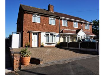 Thumbnail 3 bed semi-detached house for sale in Sussex Avenue, Wednesbury