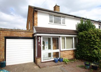 Thumbnail 2 bed semi-detached house for sale in Ivydene, West Molesey