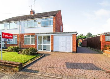 Thumbnail 3 bed semi-detached house for sale in Aynho Close, Mound Nod, Coventry
