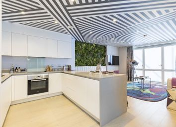 Thumbnail 1 bed flat for sale in Royal Captain Court, Blackwall Reach, London