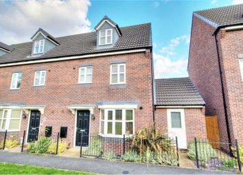 Thumbnail 4 bed town house to rent in College Green Walk, Mickleover, Derby