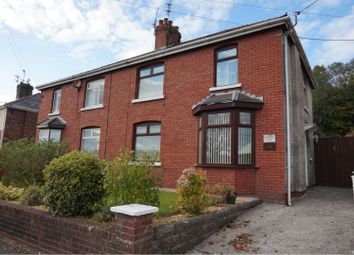 Thumbnail 3 bed semi-detached house to rent in Bryn Road, Brynmenyn