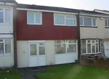 Thumbnail 3 bed terraced house to rent in Borough Cresent, Oldbury