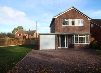 Thumbnail 3 bed detached house for sale in Waresley Road, Hartlebury, Worcestershire