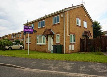 Thumbnail 2 bed semi-detached house for sale in Hund Oak Drive, Doncaster