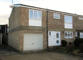 Thumbnail 4 bed end terrace house for sale in Sandringham Close, Stanford-Le-Hope, Essex.