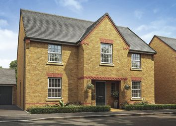 "Thumbnail 4 bed detached house for sale in ""Winstone"" at Whites Lane, New Duston, Northampton"