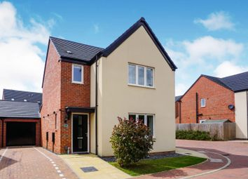 Thumbnail 3 bed detached house for sale in Dover Close, Marina Park, Northampton