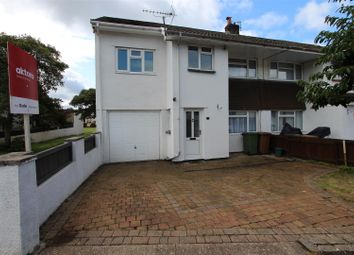 Thumbnail 3 bed semi-detached house for sale in Cherry Tree Close, Bedwas, Caerphilly