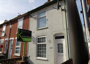 Thumbnail 3 bed terraced house to rent in Gatacre Road, Ipswich