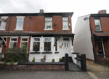 Thumbnail 3 bed end terrace house for sale in Delamere Road, Urmston, Manchester