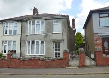 Thumbnail 3 bed semi-detached house for sale in The Crescent, Crynant, Neath .