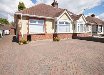 Thumbnail 2 bed bungalow for sale in The Crossway, Portchester, Fareham
