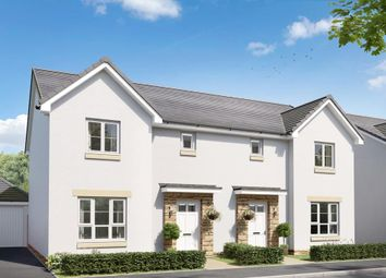 """Thumbnail 3 bedroom semi-detached house for sale in """"Craigend"""" at Salters Road, Wallyford, Musselburgh"""