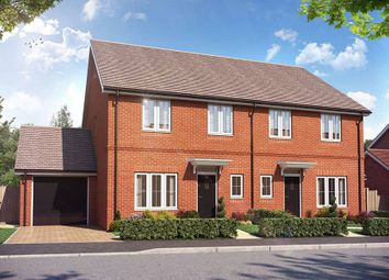 "Thumbnail 4 bed semi-detached house for sale in ""The Jayfield"" at Weston Road, Aston Clinton, Aylesbury"