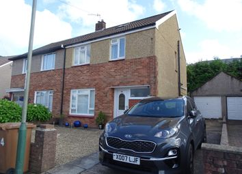 Thumbnail 3 bed semi-detached house for sale in Maes Glas, Caerphilly