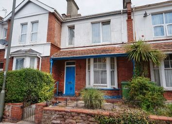 Thumbnail 3 bed terraced house for sale in Fisher Street, Paignton