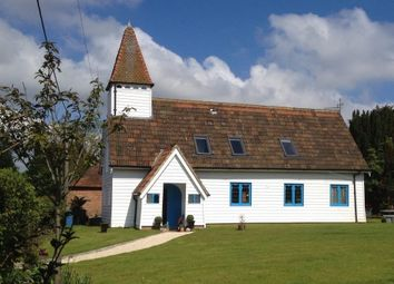 Thumbnail 4 bedroom barn conversion for sale in Elvetham Lane, Elvetham, Hook