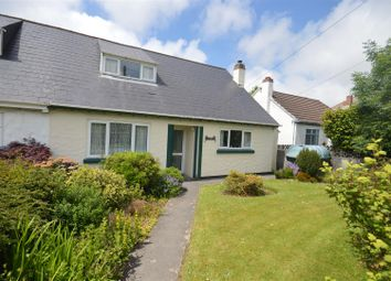 Thumbnail 3 bed semi-detached bungalow for sale in Gweal-An-Top, Redruth