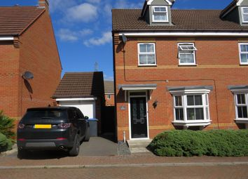 Thumbnail 3 bed semi-detached house for sale in Mill Furlong, Rugby