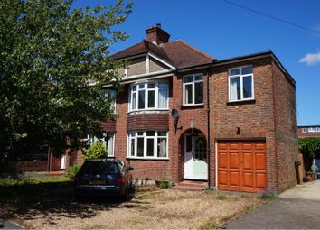 Thumbnail 4 bed semi-detached house for sale in Sidney Road, Walton-On-Thames