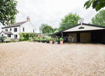 Thumbnail 3 bed detached house for sale in Hallgate Road, Sutton St. Edmund, Spalding