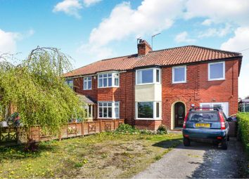 Thumbnail 4 bed semi-detached house for sale in Low Catton Road, Stamford Bridge