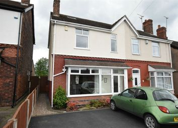 Thumbnail 4 bedroom semi-detached house for sale in Main Road, Shirland, Alfreton, Derbyshire