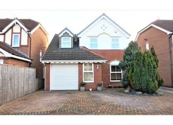 Thumbnail 3 bed detached house for sale in Thirlington Close, Newcastle Upon Tyne