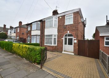 Thumbnail 3 bed semi-detached house for sale in Hollington Road, Evington, Leicester