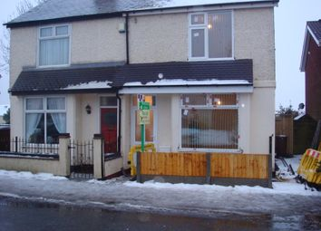 Thumbnail 2 bed semi-detached house to rent in Cemetery Road, Cannock