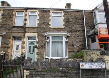Thumbnail 3 bed terraced house for sale in Ty R Owen Terrace, Cwmavon, Port Talbot