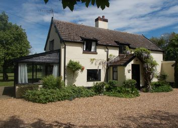 Thumbnail 3 bed equestrian property for sale in Hall Lane Hardwick, Norwich